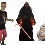 Check out these Star Wars: The Force Awakens Cardboard Stand-ups!