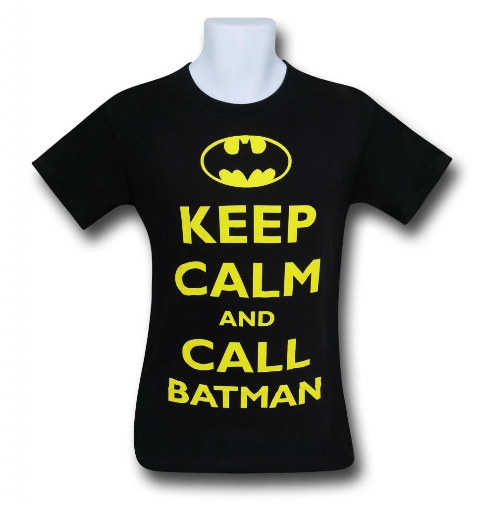 Batman Keep Calm T-Shirt
