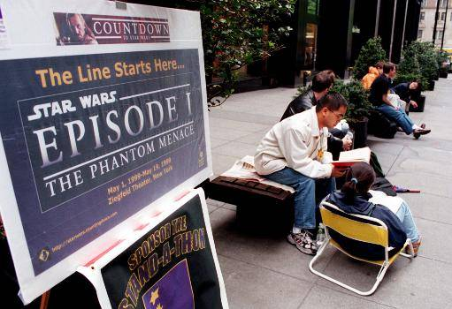 Release line for Star Wars