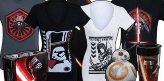 Check out our new Star Wars: The Force Awakens merchandise!