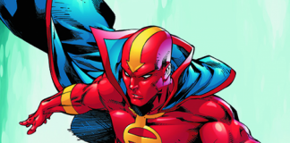 Red Tornado on Supergirl!