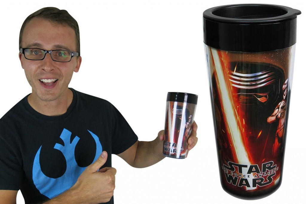 Check out this Star Wars: The Force Awakens Travel Mug!