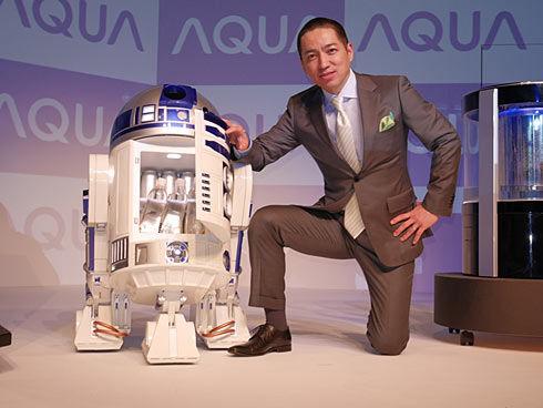 Remote Controlled R2-D2 Fridge