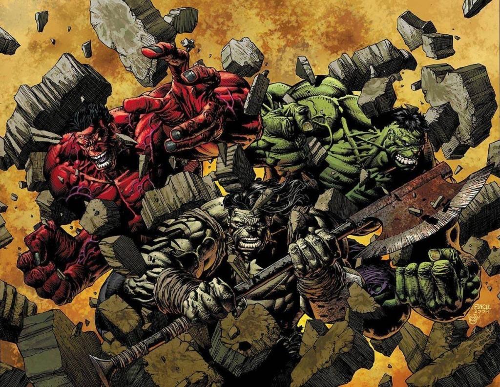 Comic Art for World War Hulk