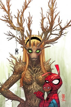 Groot and Spider-Ham variant