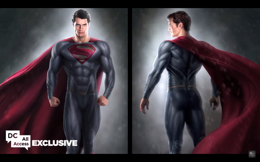 Superman Concept Art