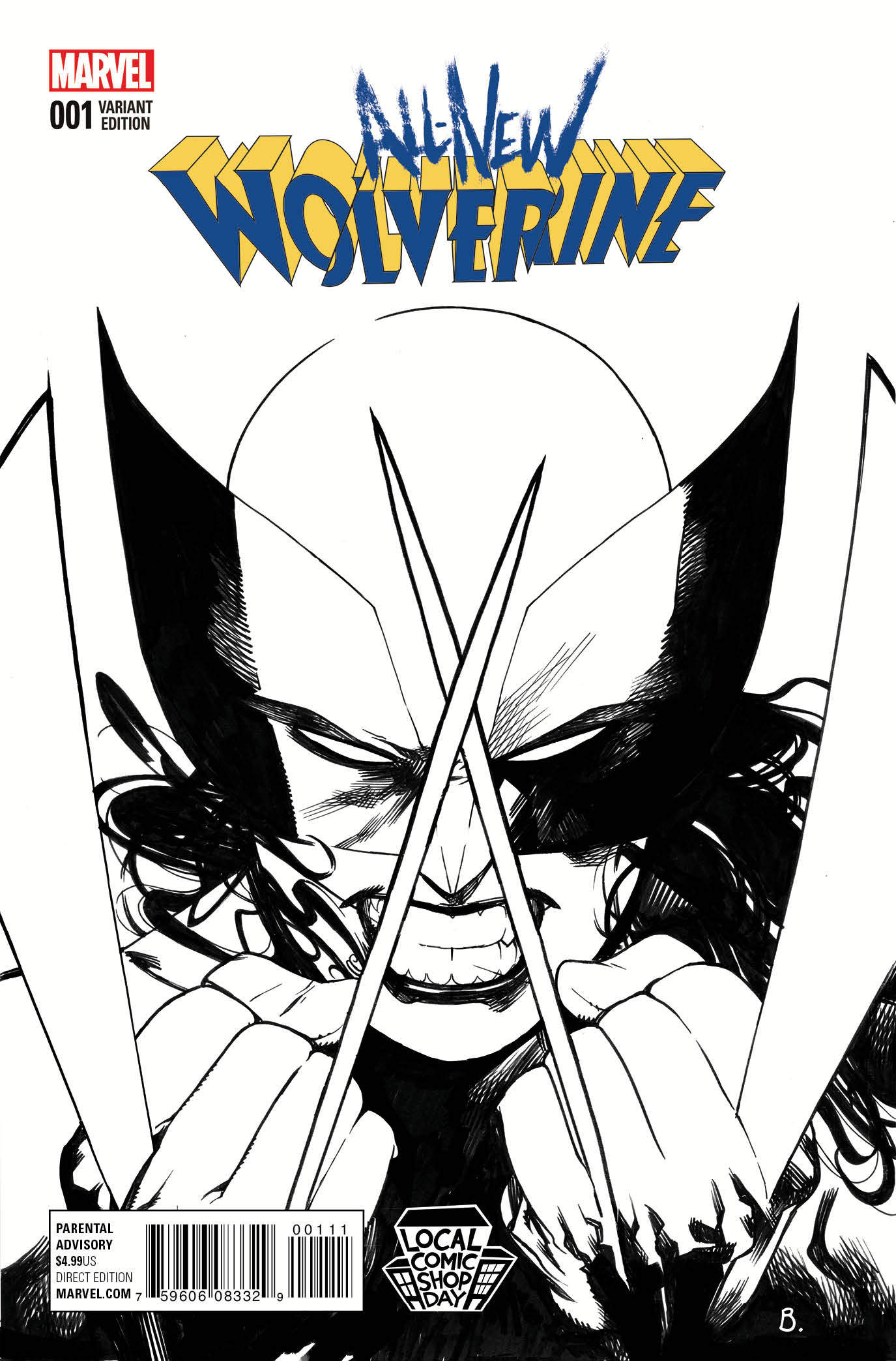 Special Wolverine Cover