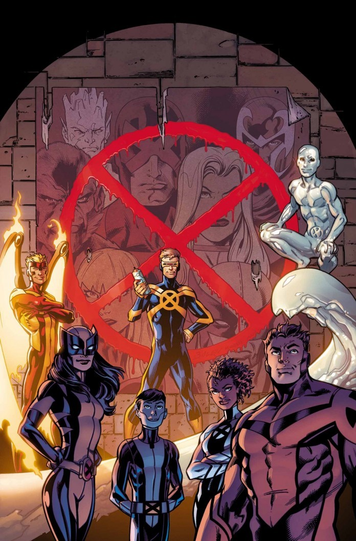 X-Men official cover