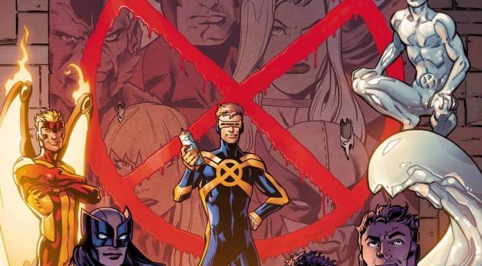X-Men official cover