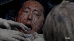 This may be the end of Glenn on The Walking Dead!