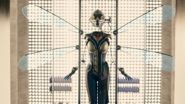 A shot of The Wasp's potential costume for future Marvel Films!