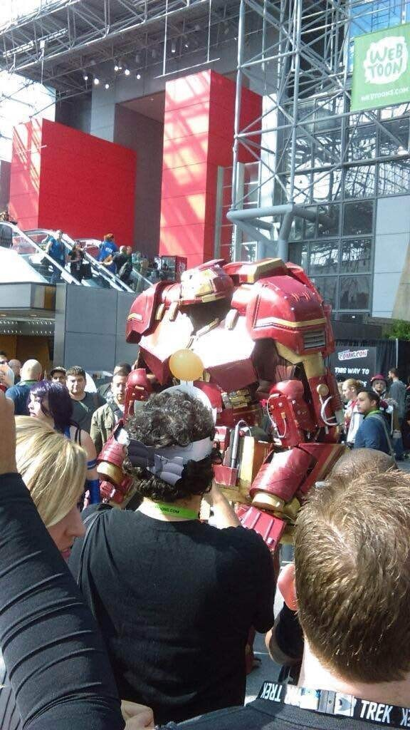 Hulkbuster Armor at NYCC.