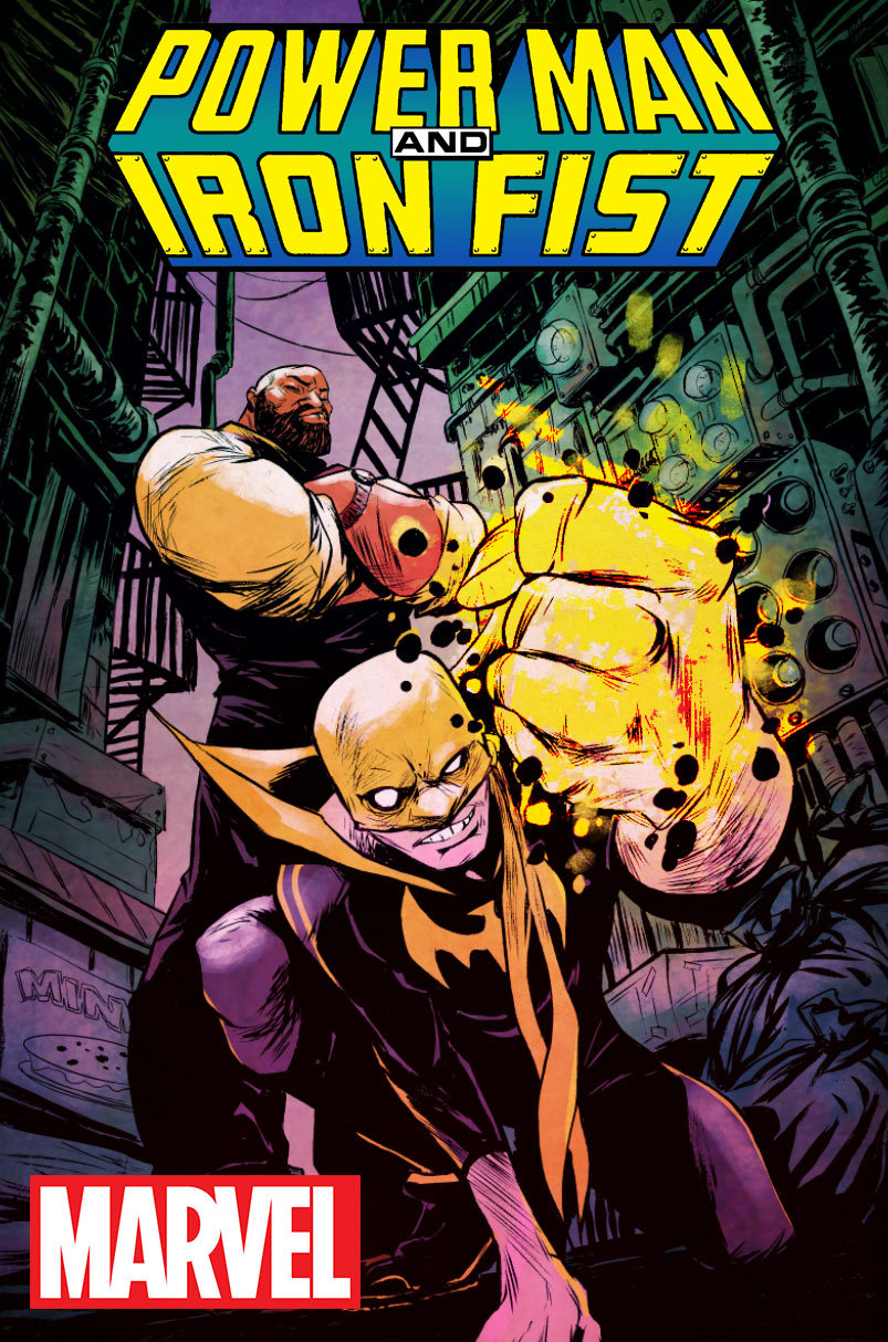 Power Man and Iron Fist Comic Cover