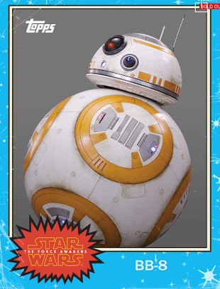 BB-8 Trading Card from Topps