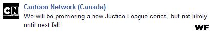 Justice League Cartoon