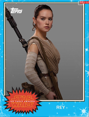 Rey Trading Card from Topps