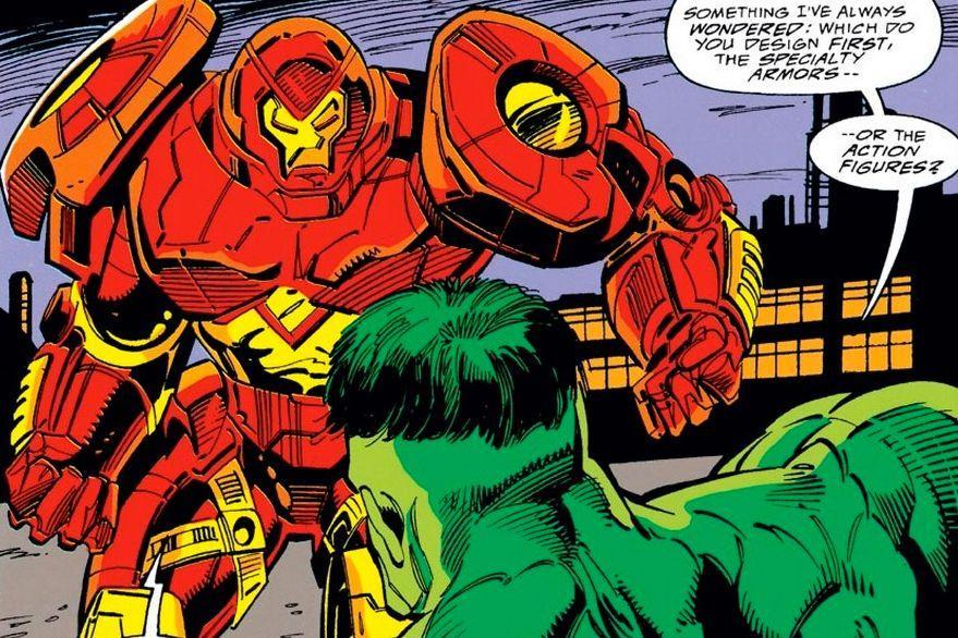 Tony Stark versus Bruce Banner