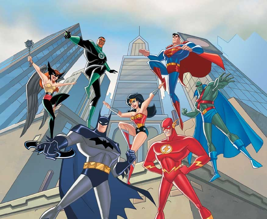 Justice League Cartoon