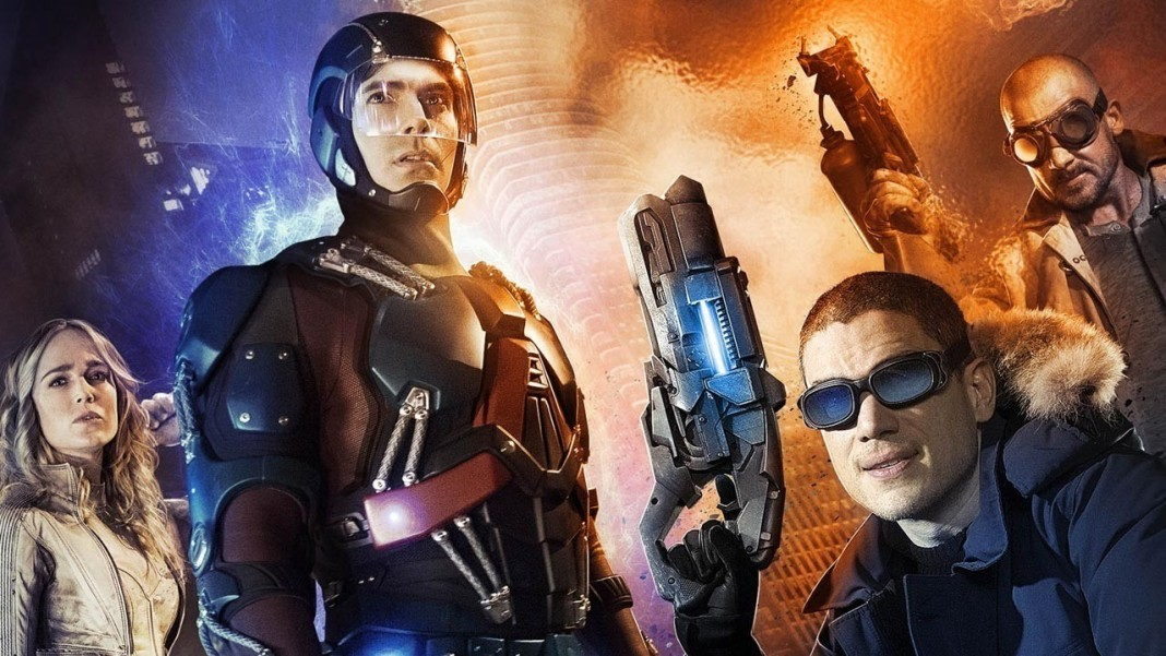 Atom, White Canary, Captain Cold, and Heat Wave