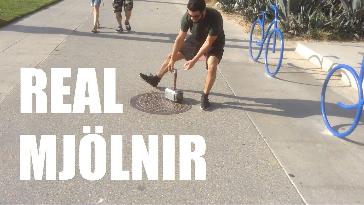 Alan Pan creates Thor's Hammer!