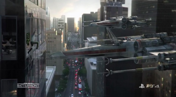 X-Wing Commerical for PS4