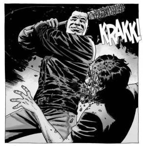Glenn meets his end in The Walking Dead Comic Book!