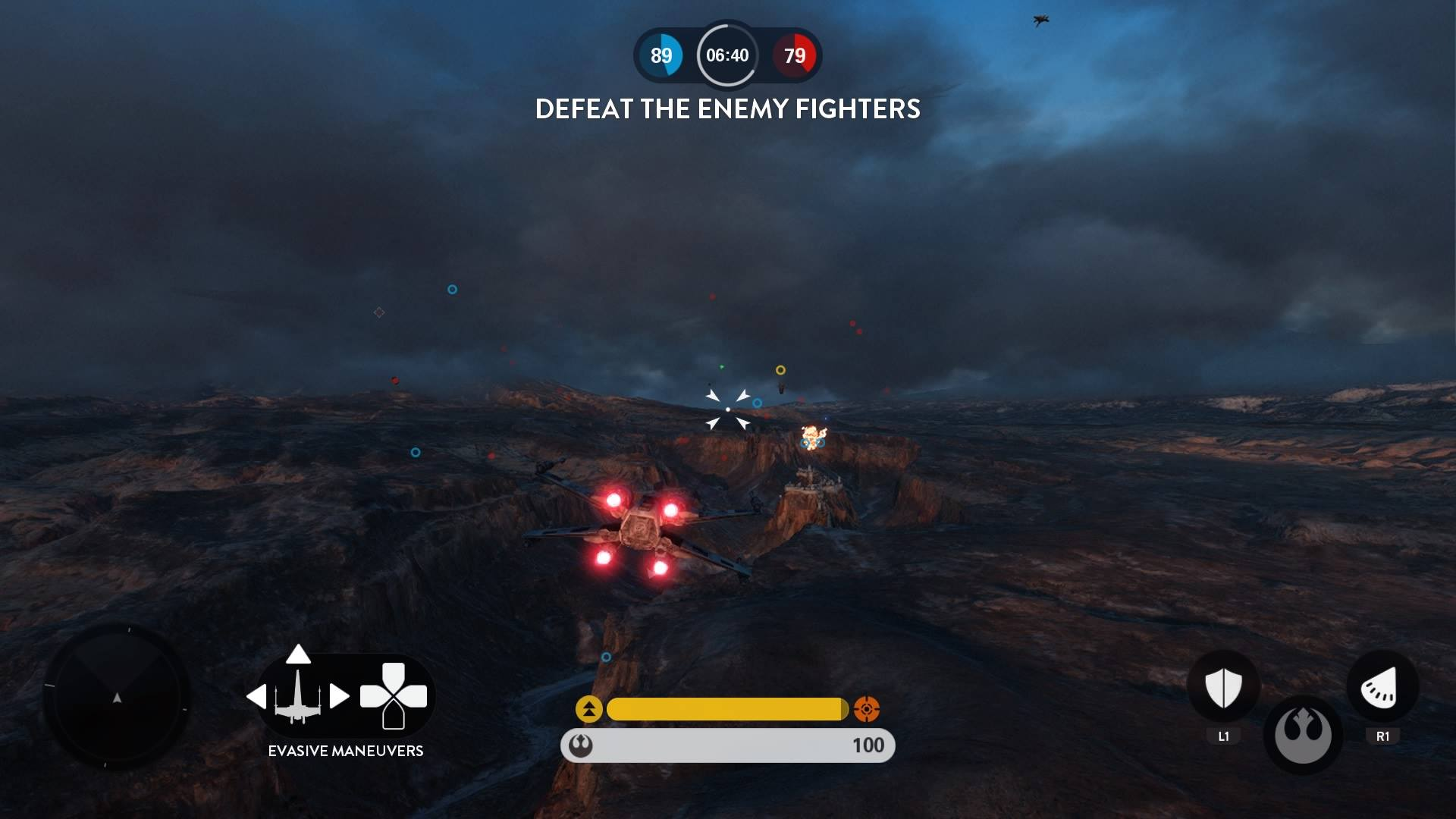 Pilot an X-Wing in Star Wars: Battlefront!