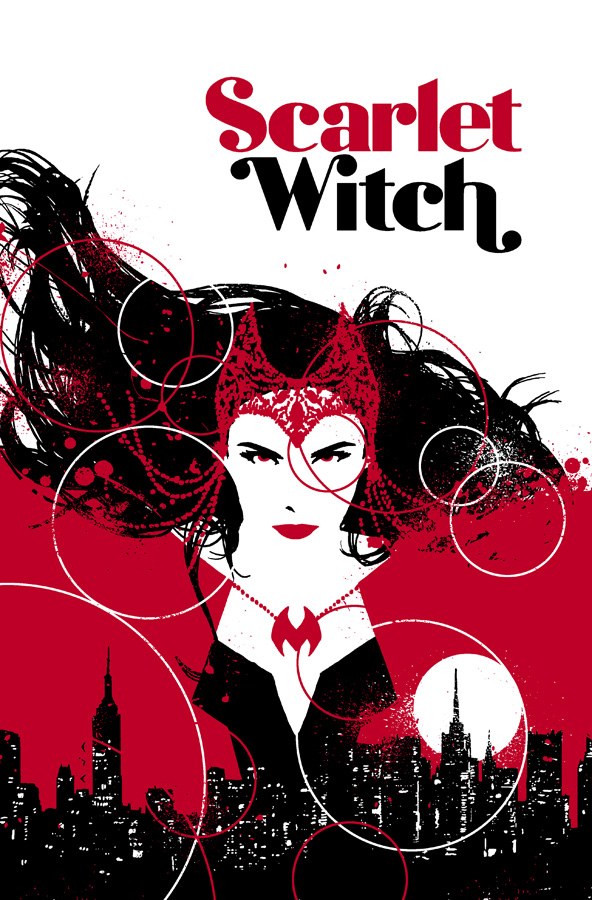 Scarlet Witch Cover