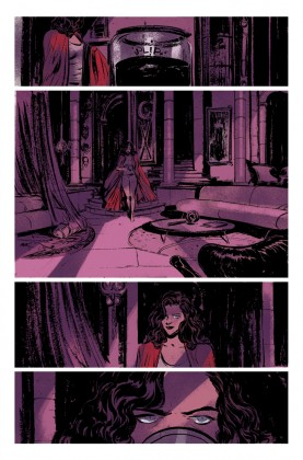 Scarlet Witch Unlettered Preview