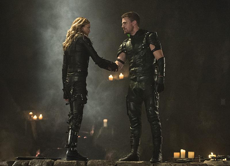 Arrow and Laurel come to an understanding in Arrow Episode 5!