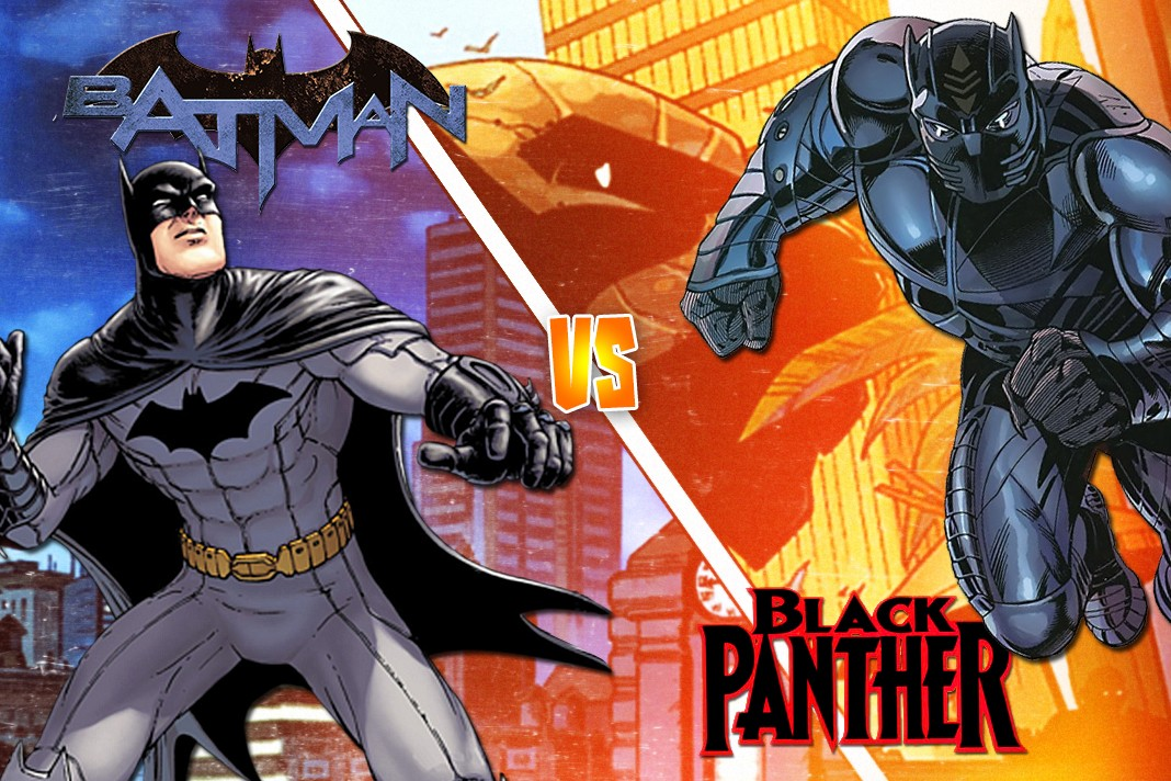 Batman v Black Panther!
