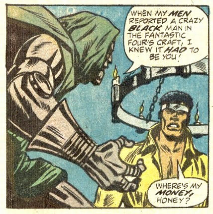Dr Doom vs Luke Cage!