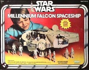 Look, kids! It's the Millennium Falcon Spaceship!
