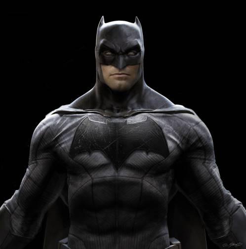 Batman concept art from Batman v Superman: Dawn of Justice.