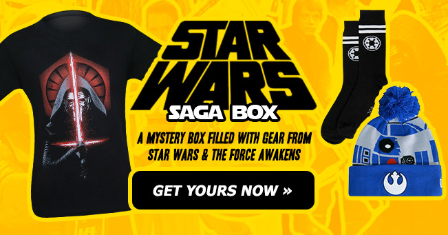 Order your Star Wars Saga HeroBox now!