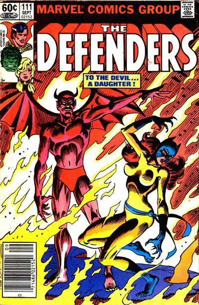 Hellcat continues her adventures in the pages of The Defenders.