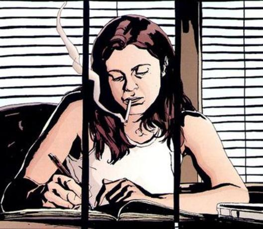 It's Jessica Jones. Writing. You're welcome!
