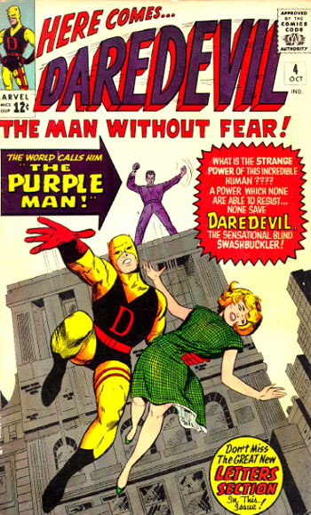 Killgrave makes his first appearance in Daredevil #4!