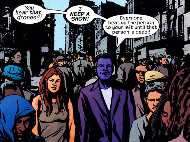 Killgrave makes life difficult for Jessica Jones in the pages of Alias!