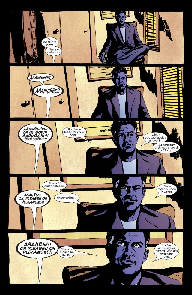 Killgrave creates his own entertainment in the pages of Alias!