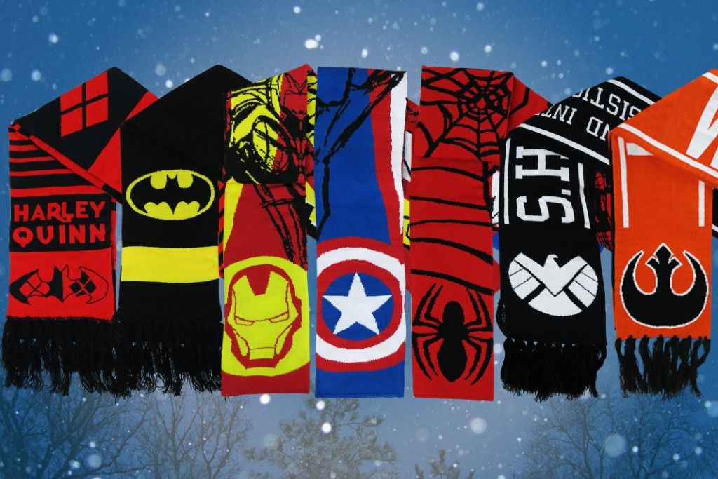 Check out our selection of awesome winter scarves!