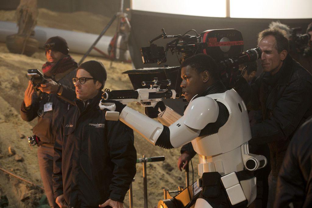 John Boyega from Star Wars: The Force Awakens