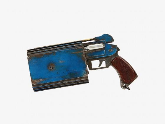 Trandoshan doubler on a target pistol