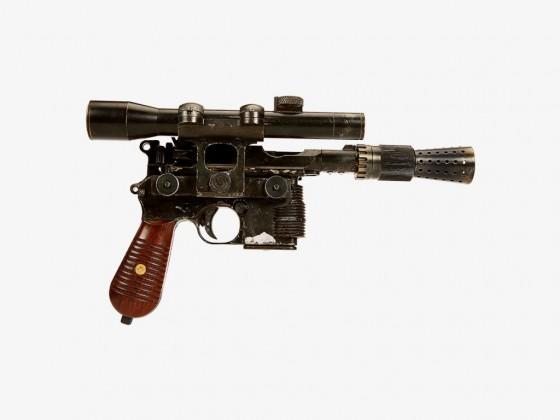 Han Solo's BlasTech DL-44