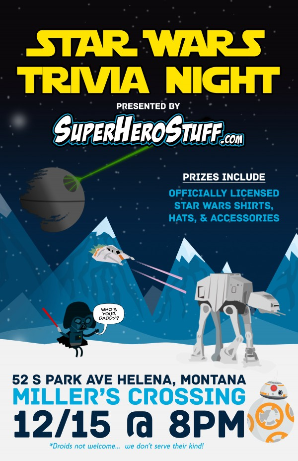 Star Wars Triva Night!