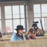 Photos on the set of Wonder Woman!