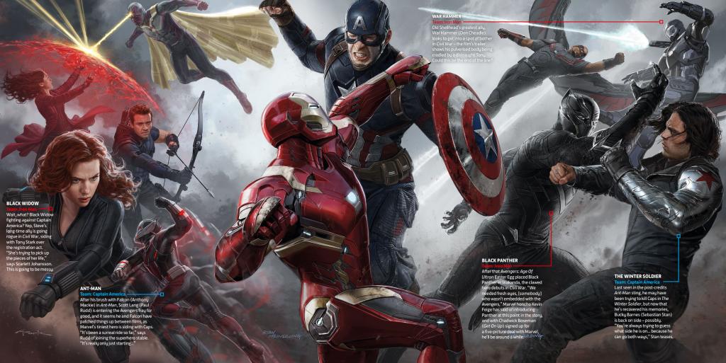 Civil War Concept Art!