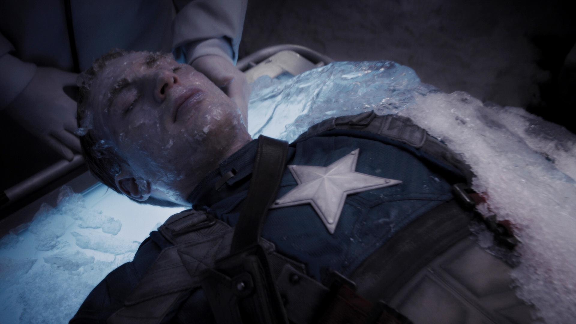 Resultado de imagem para captain america ice