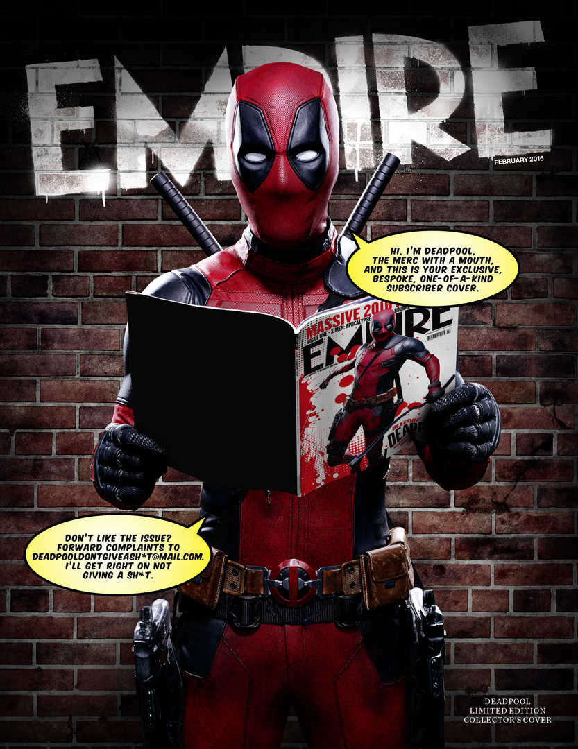 Deadpool Subscriber Cover!