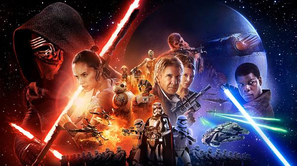Super-excited for Star Wars: The Force Awakens!